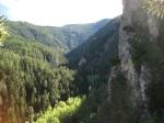 Durch das wunderschöne Crouja-Tal floss die Bisse des Sarrasins